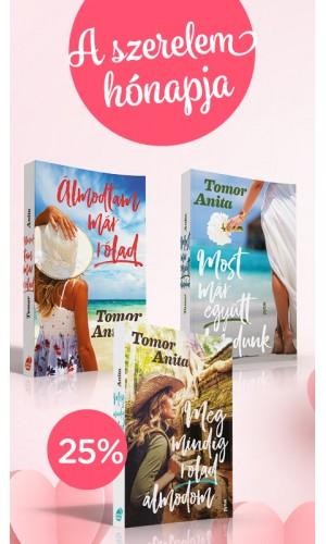 """""""Valentin napi álom"""" kedvezményes könyvcsomag"""