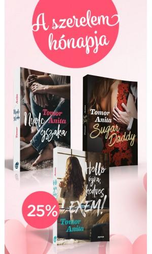 """""""Helló, Valentin nap"""" kedvezményes könyvcsomag"""