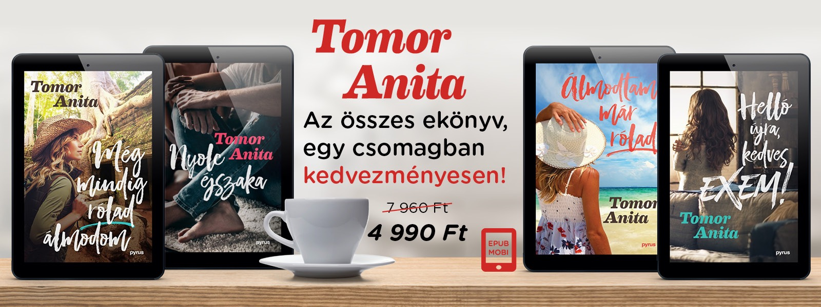 Tomor Anita e-könyv csomag