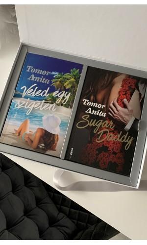 Veled egy szigeten + Sugar Daddy könyves ajándékdoboz