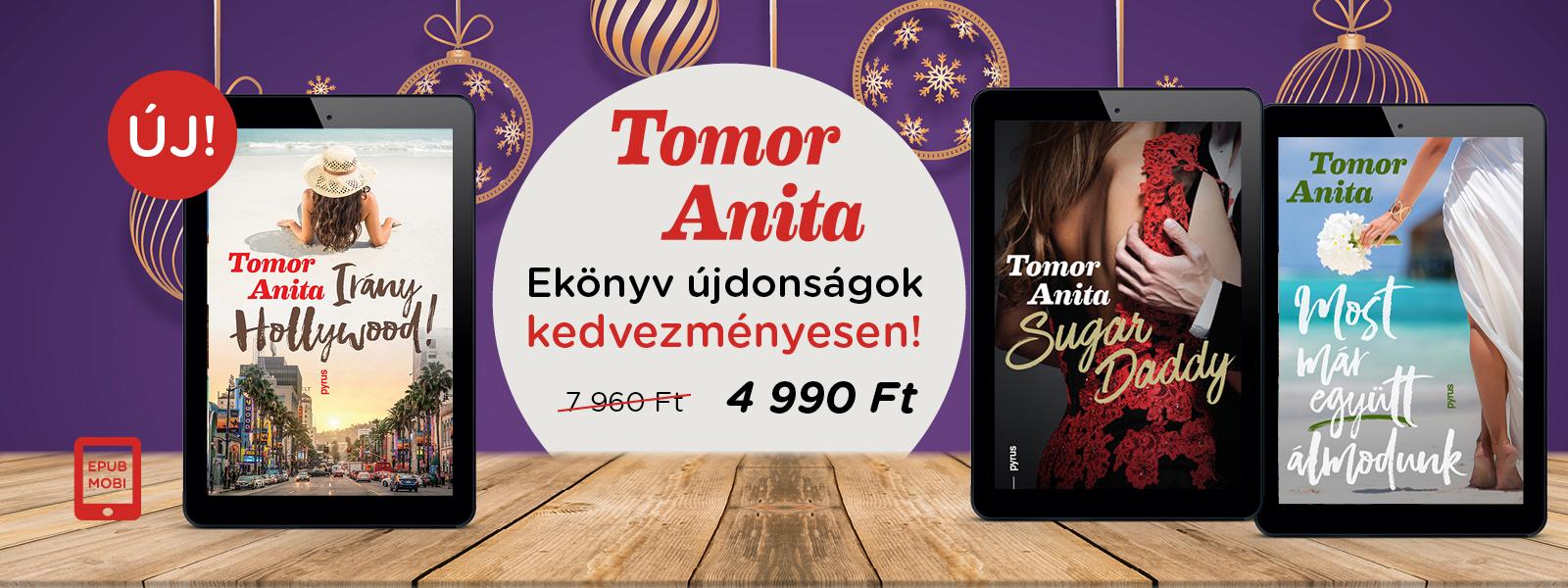 Tomor Anita ekönyv újdonságok