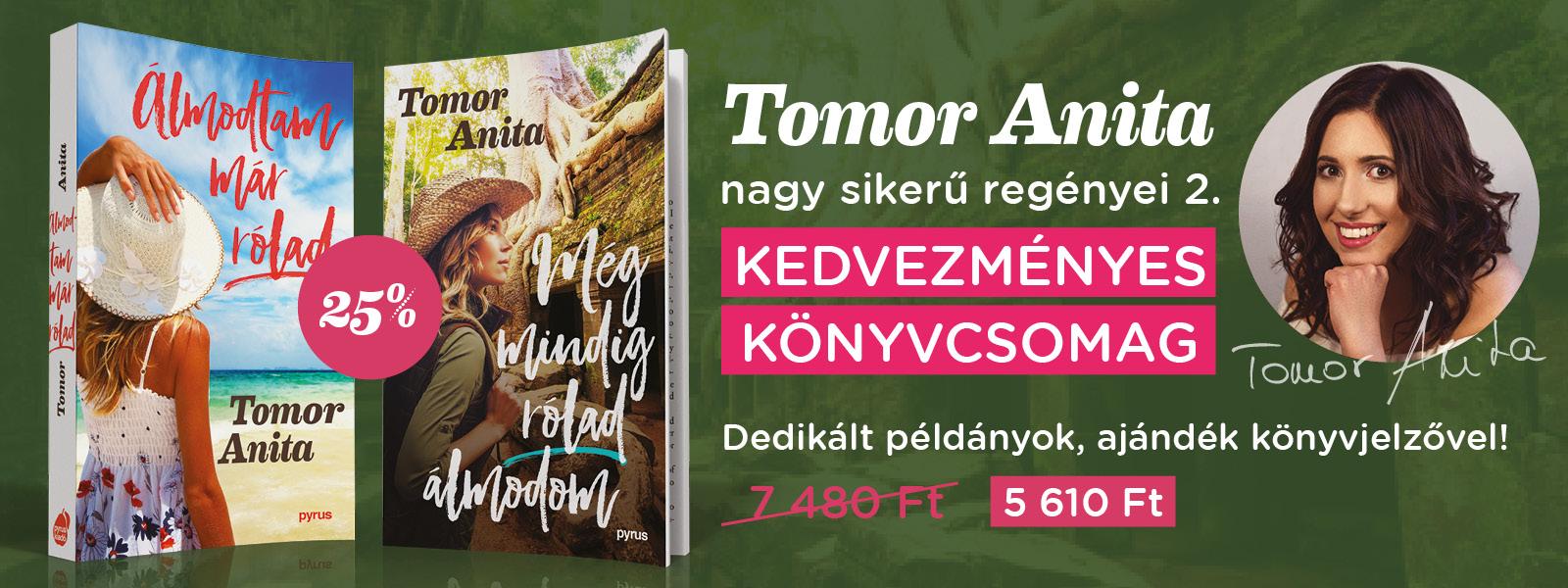 Tomor Anita könyvcsomag 2.