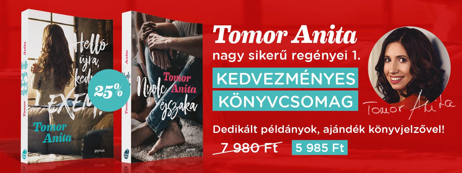 Tomor Anita könyvcsomag 1