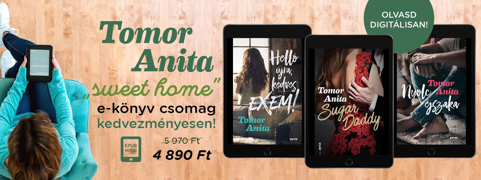 Sweet home e-könyv csomag